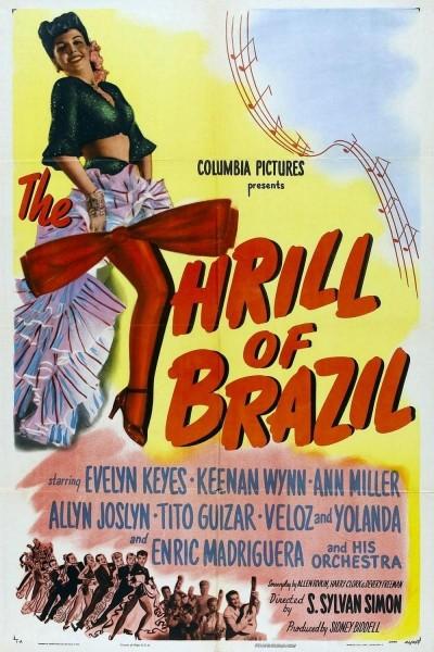 Caratula, cartel, poster o portada de The Thrill of Brazil