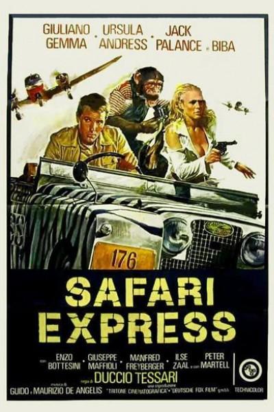 Caratula, cartel, poster o portada de Safari Express