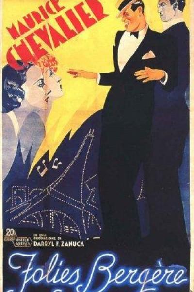 Caratula, cartel, poster o portada de El caballero del Folies Bergere