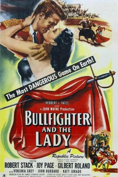 Caratula, cartel, poster o portada de El torero y la dama