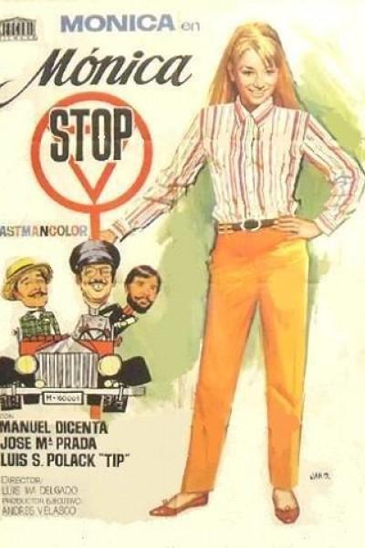 Caratula, cartel, poster o portada de Mónica Stop