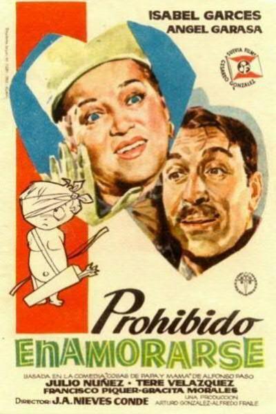 Caratula, cartel, poster o portada de Prohibido enamorarse