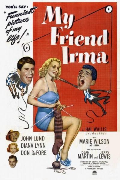 Caratula, cartel, poster o portada de Mi amiga Irma