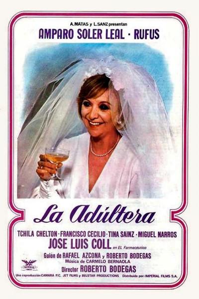 Caratula, cartel, poster o portada de La adúltera