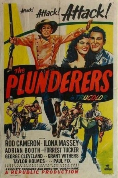 Caratula, cartel, poster o portada de The Plunderers