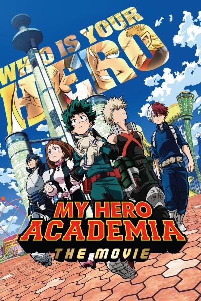 Caratula, cartel, poster o portada de My Hero Academia: Two Heroes