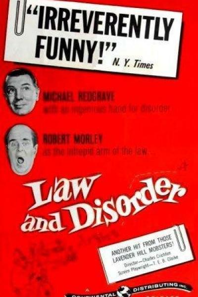 Caratula, cartel, poster o portada de Law and Disorder