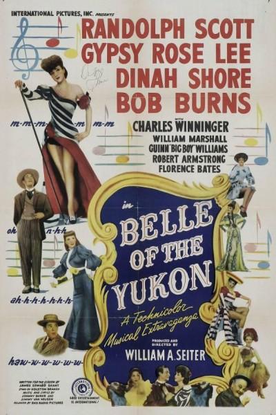 Caratula, cartel, poster o portada de La bella del Yukon