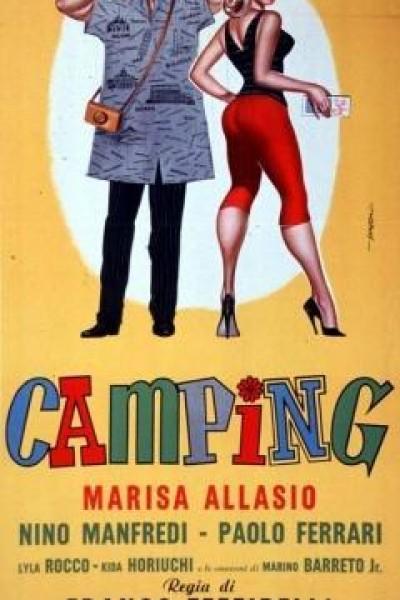 Caratula, cartel, poster o portada de Camping