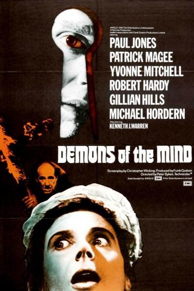 Caratula, cartel, poster o portada de Demonios de la mente