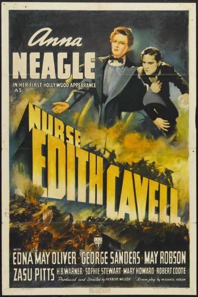 Caratula, cartel, poster o portada de Nurse Edith Cavell