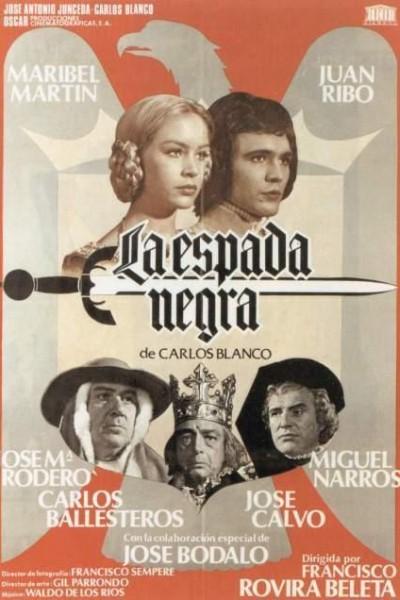 Caratula, cartel, poster o portada de La espada negra