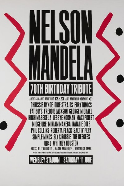 Caratula, cartel, poster o portada de Nelson Mandela 70th Birthday Tribute