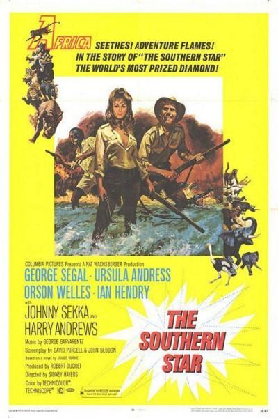 Caratula, cartel, poster o portada de La estrella del sur