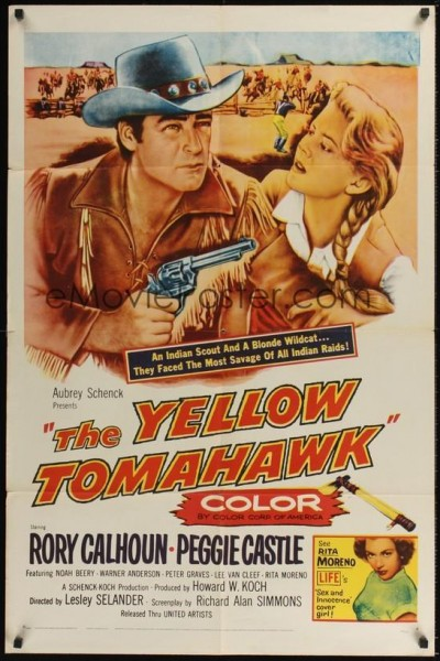 Caratula, cartel, poster o portada de The Yellow Tomahawk