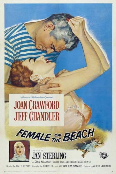 Caratula, cartel, poster o portada de Una mujer en la playa