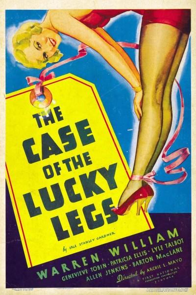 Caratula, cartel, poster o portada de The Case of the Lucky Legs