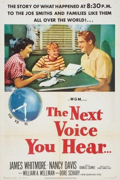 Caratula, cartel, poster o portada de La voz que van a escuchar