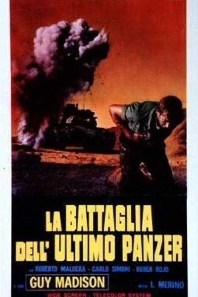 Caratula, cartel, poster o portada de La batalla del último Panzer