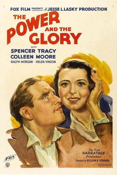 Caratula, cartel, poster o portada de Poder y gloria