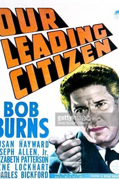 Caratula, cartel, poster o portada de Our Leading Citizen