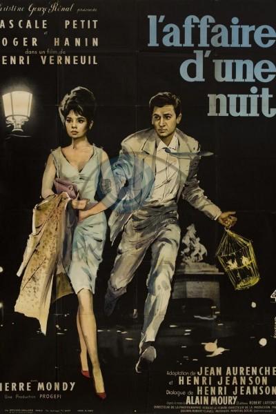 Caratula, cartel, poster o portada de L\'affaire d\'une nuit