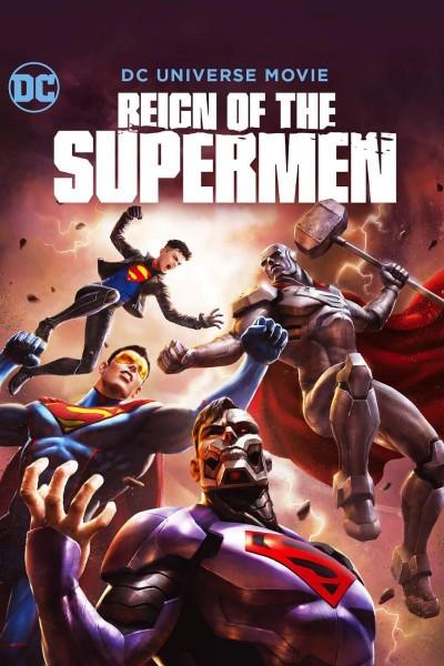 Caratula, cartel, poster o portada de La muerte de Superman. Parte 2: El reinado de los superhombres