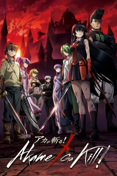 Caratula, cartel, poster o portada de Akame ga Kill!