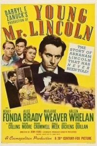 Caratula, cartel, poster o portada de El joven Lincoln