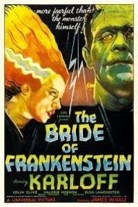 Caratula, cartel, poster o portada de La novia de Frankenstein