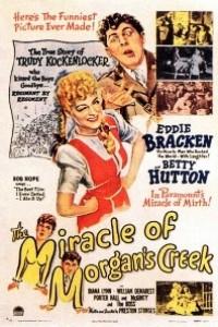 Caratula, cartel, poster o portada de El milagro de Morgan Creek