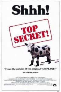 Caratula, cartel, poster o portada de Top Secret!