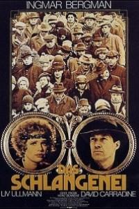 Caratula, cartel, poster o portada de El huevo de la serpiente