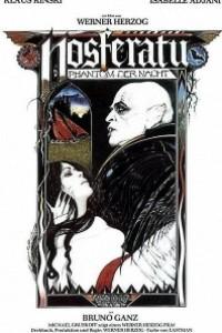 Caratula, cartel, poster o portada de Nosferatu, vampiro de la noche