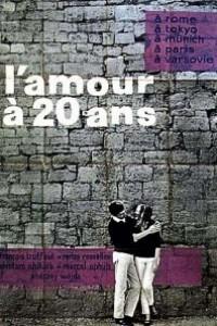 Caratula, cartel, poster o portada de El amor a los veinte años