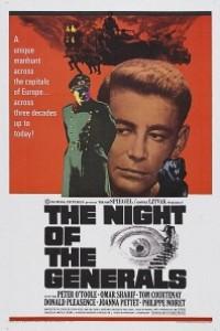 Caratula, cartel, poster o portada de La noche de los generales