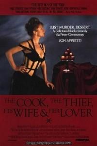 Caratula, cartel, poster o portada de El cocinero, el ladrón, su mujer y su amante