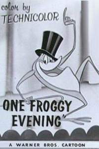 Caratula, cartel, poster o portada de One Froggy Evening
