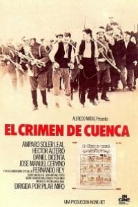 Caratula, cartel, poster o portada de El crimen de Cuenca