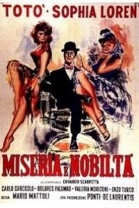 Caratula, cartel, poster o portada de Miseria y nobleza