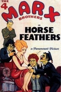 Caratula, cartel, poster o portada de Plumas de caballo