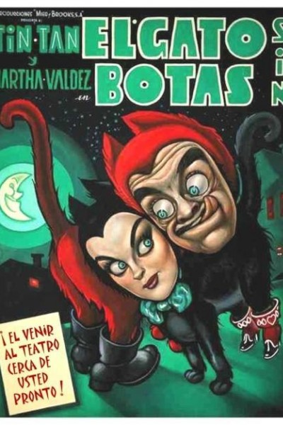 Caratula, cartel, poster o portada de El gato sin botas