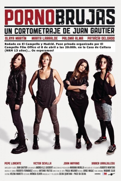 Caratula, cartel, poster o portada de Pornobrujas