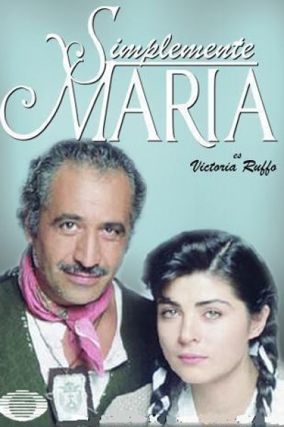 Caratula, cartel, poster o portada de Simplemente María