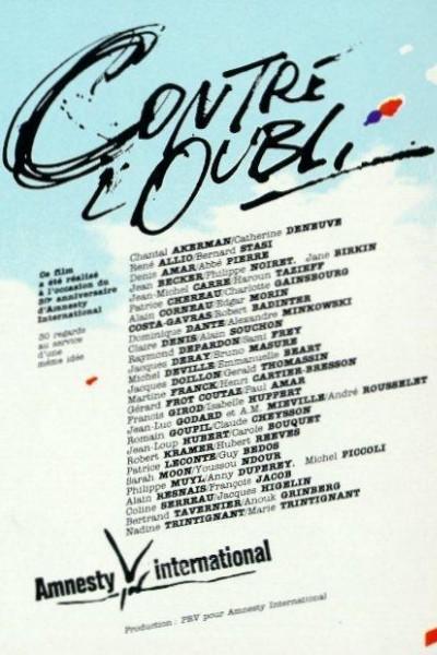 Caratula, cartel, poster o portada de Contre l\'oubli (Against Oblivion)