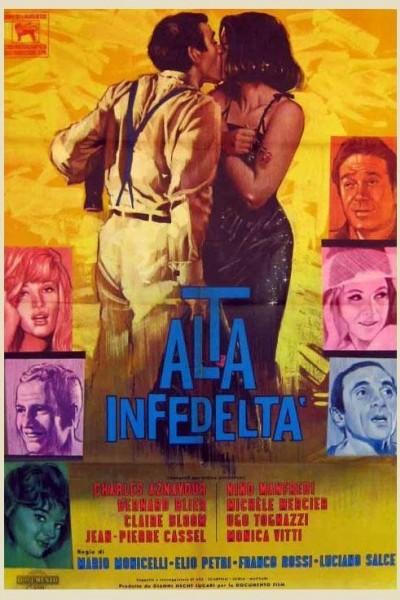 Caratula, cartel, poster o portada de Alta infidelidad