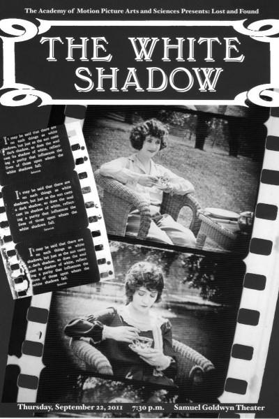 Caratula, cartel, poster o portada de The White Shadow