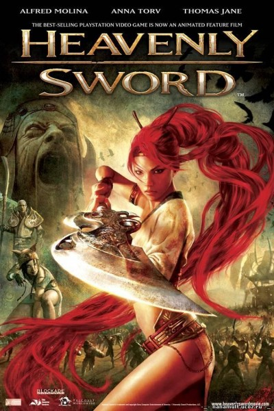 Caratula, cartel, poster o portada de Heavenly Sword