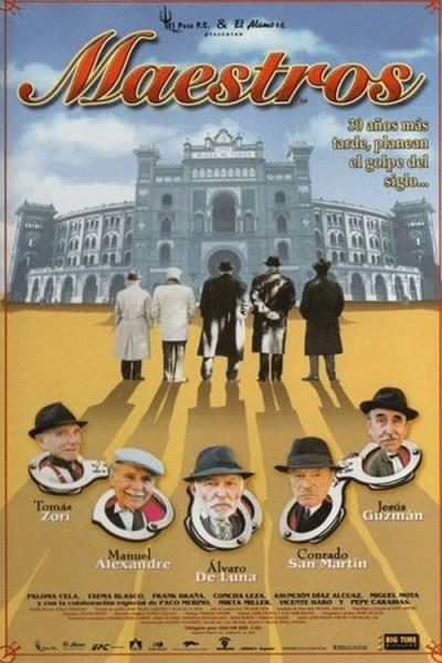 Caratula, cartel, poster o portada de Maestros