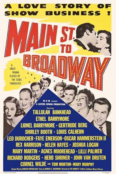 Caratula, cartel, poster o portada de Main Street to Broadway